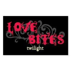 Love Bites Twilight Rectangle Sticker 10 pk)