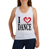 """I Heart Dance"" Women's Tank Top"
