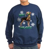 Holiday Min Pin Sweatshirt