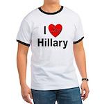 I Love Hillary (Front) Ringer T
