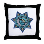 Walker River Tribal Police Throw Pillow