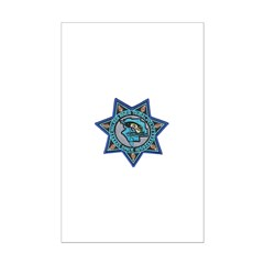 Walker River Tribal Police Mini Poster Print
