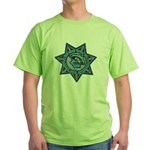 Walker River Tribal Police Green T-Shirt