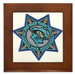 Walker River Tribal Police Framed Tile