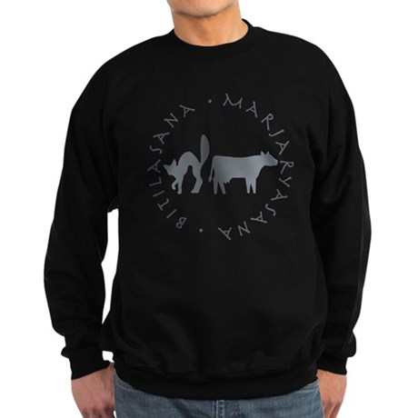 Cat-Cow Sweatshirt (dark)