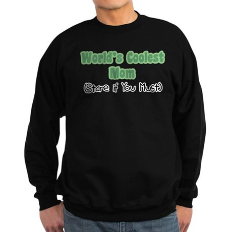World's Coolest Mom Sweatshirt (dark)
