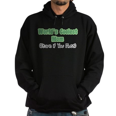 World's Coolest Mom Hoodie (dark)