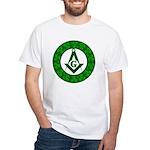 Irish Mason White T-Shirt