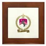 PRETIEUX Family Crest Framed Tile