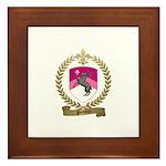PRETIEUX Family Crest Framed Tile