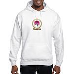 PRETIEUX Family Crest Hooded Sweatshirt