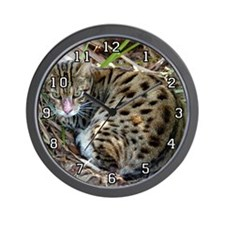 Bengal Cat Wall Clock