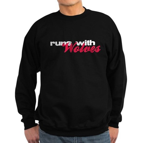 Runs With Wolves Sweatshirt (dark)