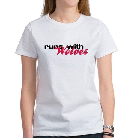 Runs With Wolves Women's T-Shirt