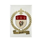 POULET Family Crest Rectangle Magnet (10 pack)