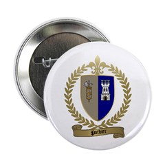 POTHIER Family Crest 2.25&quot; Button (100 pack)