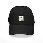 PORLIER Family Crest Black Cap