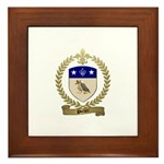 PORLIER Family Crest Framed Tile