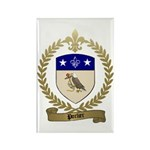 PORLIER Family Crest Rectangle Magnet (100 pack)