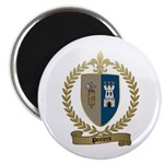 POITIERS Family Crest Magnet