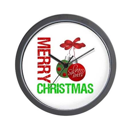 MerryX-Mas Wall Clock