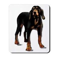 black and tan hound Mousepad