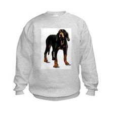 black and tan hound Sweatshirt