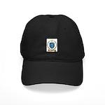 PLOURDE Family Crest Black Cap