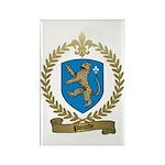 PLOURDE Family Crest Rectangle Magnet (100 pack)