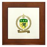 PITRE Family Crest Framed Tile