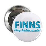 "Finn Hockey 2.25"" Button"