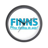 Finn Hockey Wall Clock