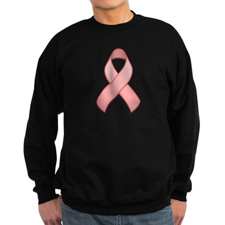 Pink Awareness Ribbon Sweatshirt (dark)