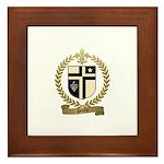 PILOTTE Family Crest Framed Tile