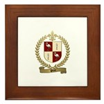 PICOT Family Crest Framed Tile
