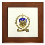 PICHOT Family Crest Framed Tile