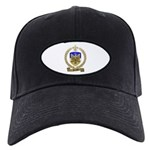 PICHAUD Family Crest Black Cap