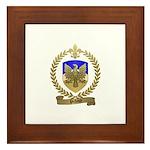 PICHAUD Family Crest Framed Tile