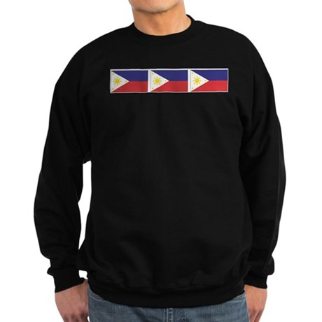 Philippine Flags Sweatshirt (dark)