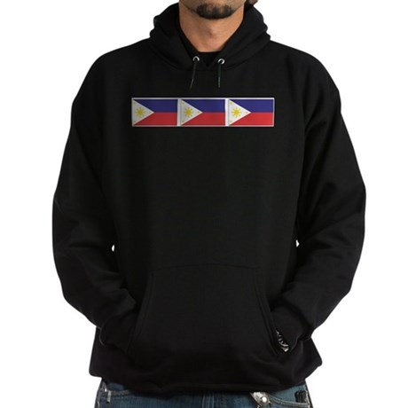 Philippine Flags Hoodie (dark)