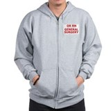 RN General Surgery Zip Hoodie