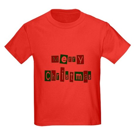 Merry Christmas Kids Dark T-Shirt