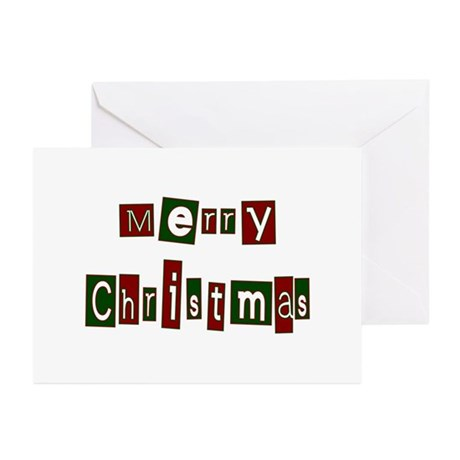 Merry Christmas Greeting Cards (Pk of 20)
