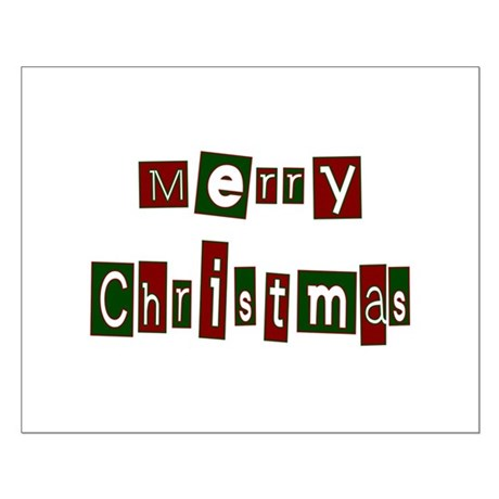 Merry Christmas Small Poster