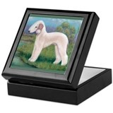 Bedlington (Standing) Keepsake Box