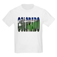 Colorado Mountains -  Kids T-Shirt