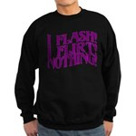 Flirty Flasher Sweatshirt (dark)