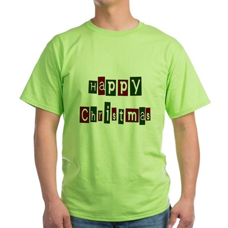Happy Christmas Green T-Shirt