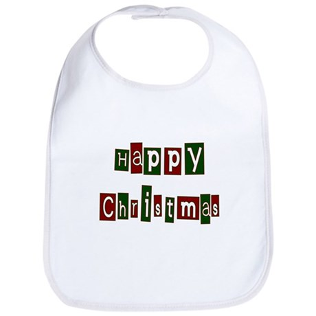Happy Christmas Bib
