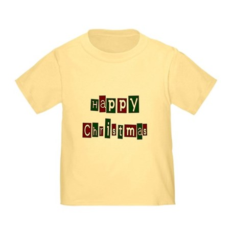 Happy Christmas Toddler T-Shirt